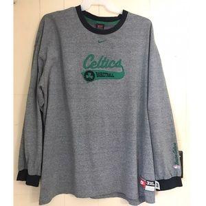 Nike Boston Celtics Basketball Long Sleeves Shirt